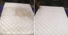 El truco más eficaz y ecológico para deshacete de manchas, malos olores y gérmenes acumulados en el colchón sobre el que duermes cada noche.