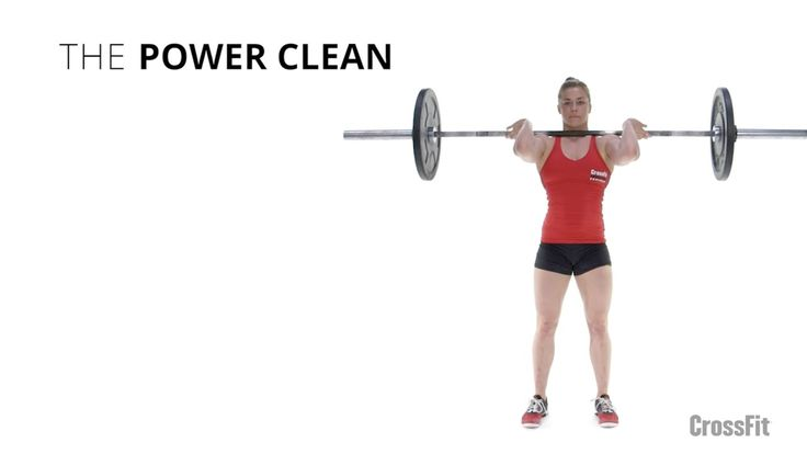 Power Cleans - big big fan