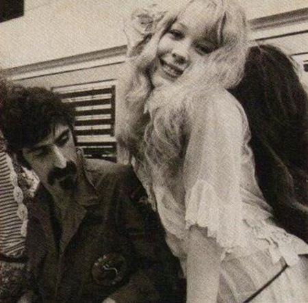 Pamela des Barres & Frank Zappa