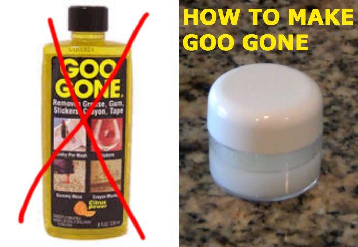 Diy Generic Goo Gone Sticker Remover Baking Soda Cricut And Mr Clean
