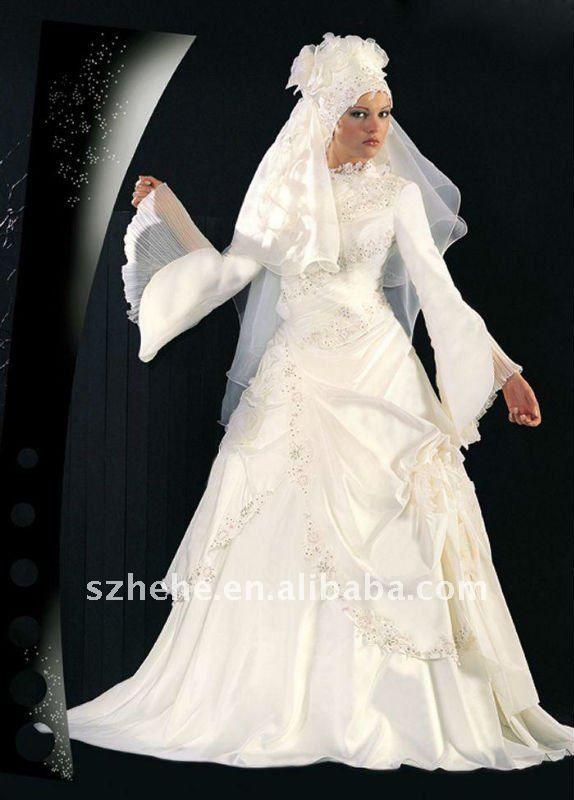 Foto abiti da sposa arabi