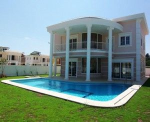 Luxurious Med Villas - These new luxury villas are situated in the beautiful Belek . These new properties sit within easy reach to all amenities of both Belek and Antalya , the glorious sea front and many superb international golf courses. Price: £168,410