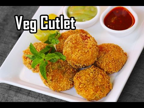 Veg Cutlets Recipe - how to make mixed veg cutlets easily - Foodvedam