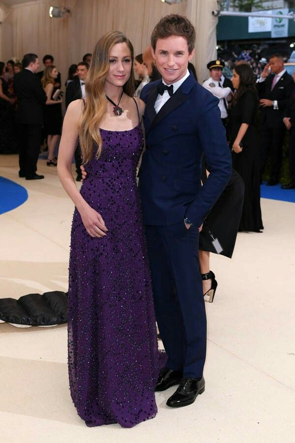 Eddie and Hannah at Met gala 2017.