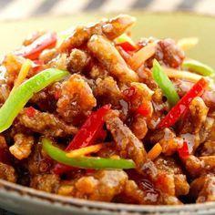 Crispy Shredded Chicken in Sweet Chilli Sauce