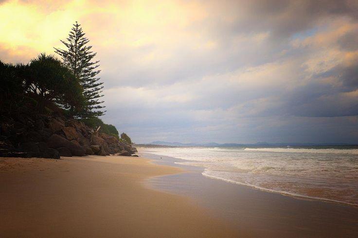 Belongil Beach, Byron Bay, New South Wales, Australia