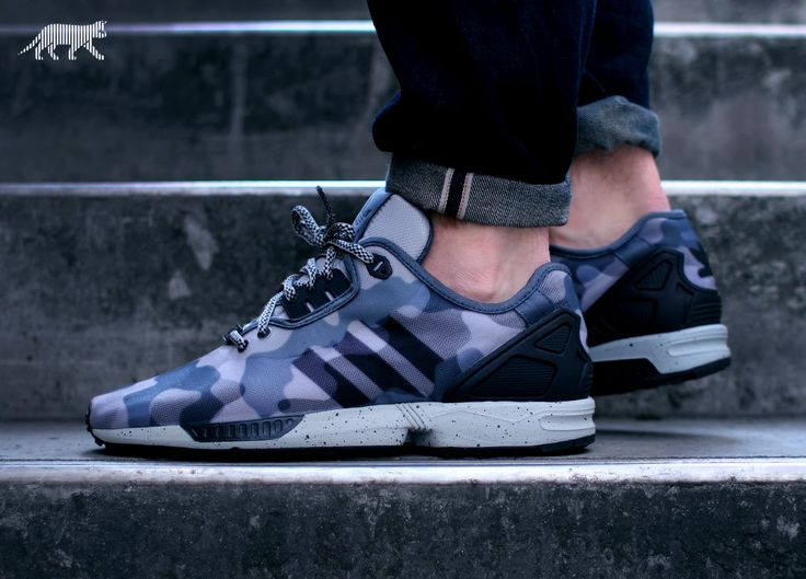 Adidas Zx Flux Decon Camo