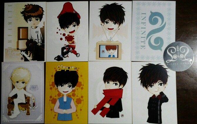 "Card collection ""Kim Myungsoo"""