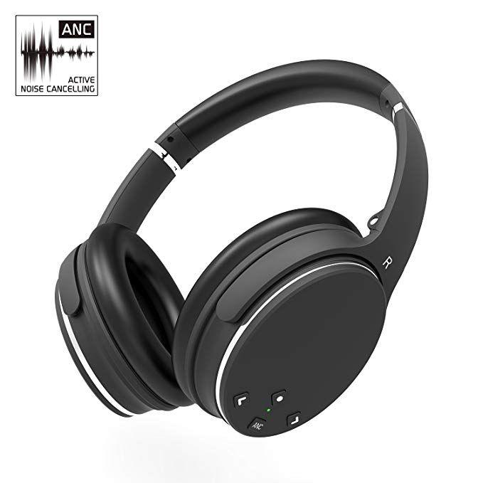 Over-Ear Stereo Earphones Wireless Headset for TV Gaming Travel