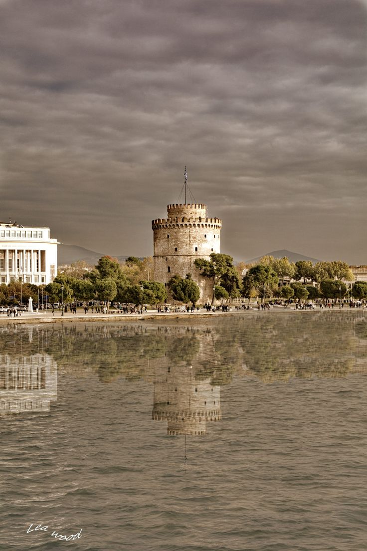 The white tower. Thessaloniki , Macedonia, Greece.