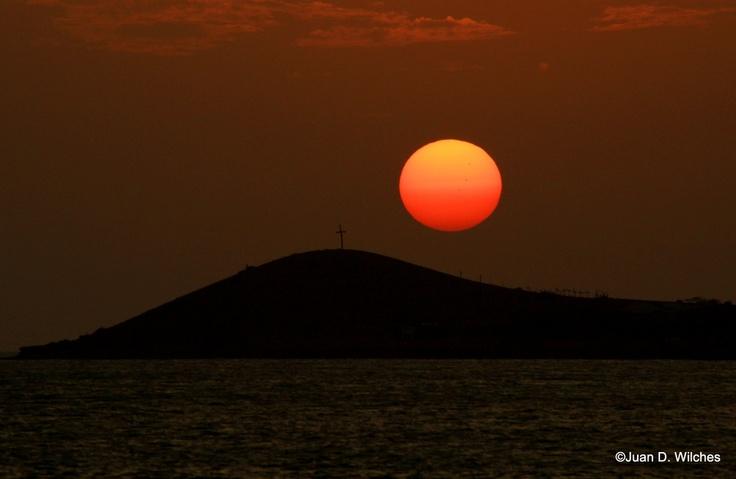 Cruz y Sol en El Cabo de La Vela #colombia