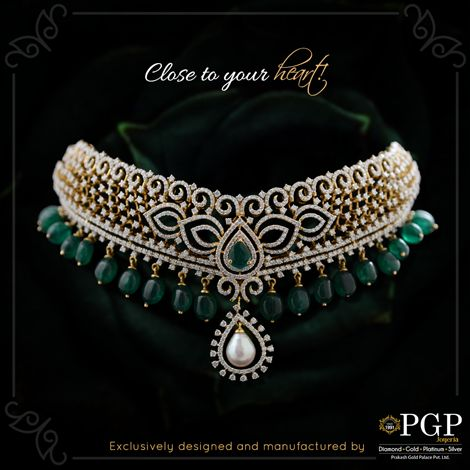 Keep her close with this symbol of togetherness! For any queries regarding the price of the jewellery or otherwise, email us at query@pgpgroups.com