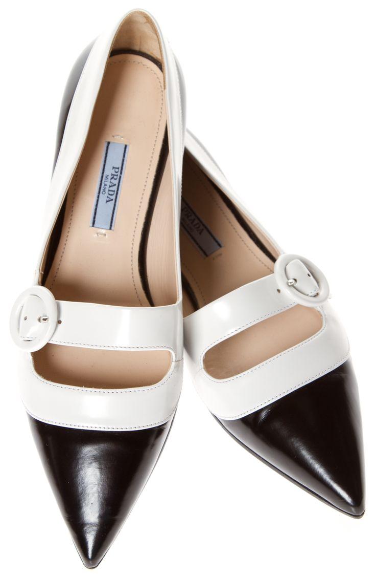 Shop for Prada Flats from hautehelen on Shop Hers