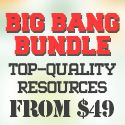 The Big Bang Bundle: $14,979 worth of Top-Quality Resources – From $49