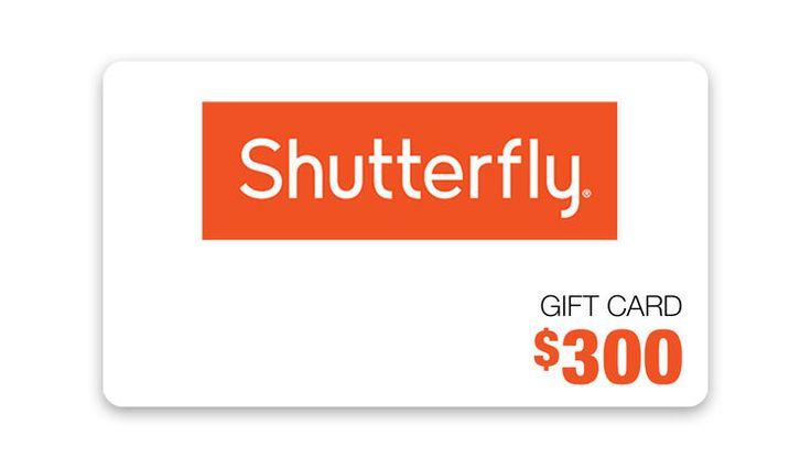 Win a $300 Shutterfly Gift Card!