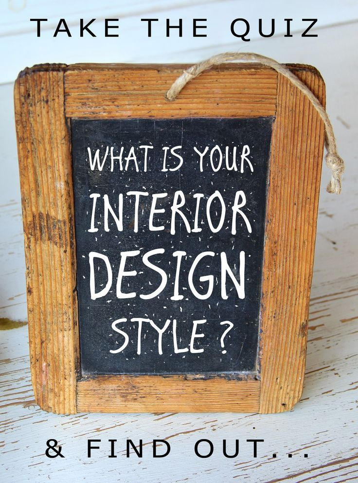 Are you wondering what your interior design and home decorating style is? Take the quiz to find out what your style is.