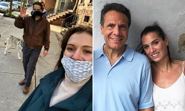 Cuomo S Daughter Under Fire Over Improper Face Mask Use In 2020 Face Mask Face Boyfriend Advice