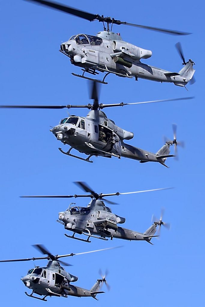 USMC Attack Helicopters | by mvonraesfeld                                                                                                                                                                                 More