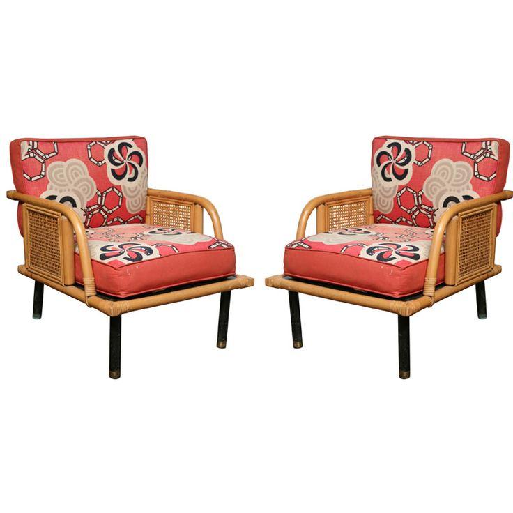 50u0027s Club Chairs By Ficks Reed Company