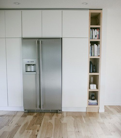 A bookshelf in the kitchen, I have always though my kitchen needed one but there is never room, darn food