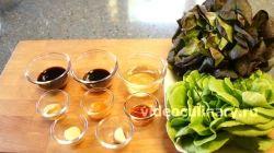Ингредиенты для приготовления Салат листовой по-королевски