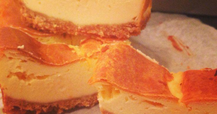 ボトムまで美味しい♡100%美味しくできる♪ 友達に絶品と言ってもらった混ぜていくだけの簡単チーズケーキレシピです♡♡