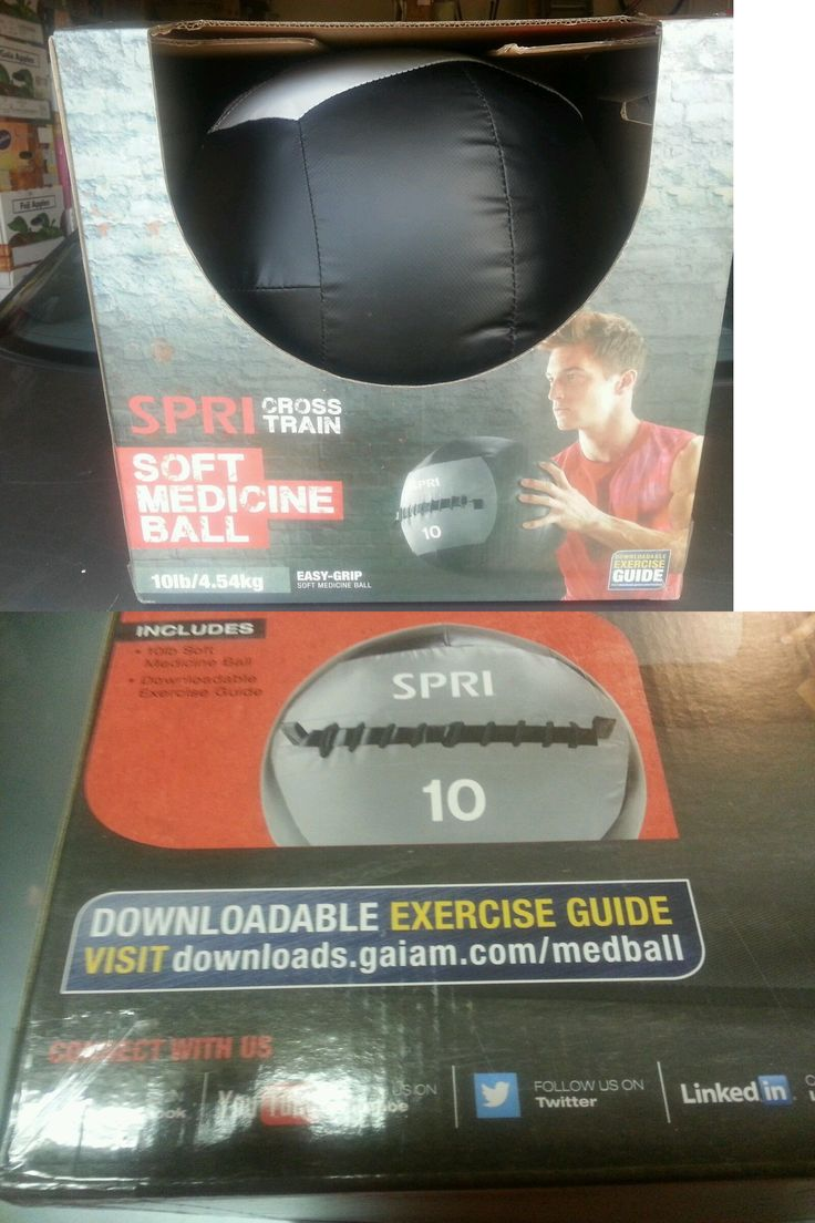 Medicine Weighted Balls 137861: Spri Ignite Cross Fitness Training 10 Lb. Soft Medicine Ball Nib BUY IT NOW ONLY: $54.95