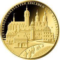 Deutsches Münzen Magazin   UNESCO Gold-Euro 2017   Luther-Gedenkstätten Eisleben und Wittenberg
