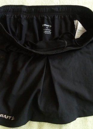 Kupuj mé předměty na #vinted http://www.vinted.cz/damske-obleceni/specialni-obleceni/13797655-sportovni-elasticke-cerne-kratasy-se-sukni-craft