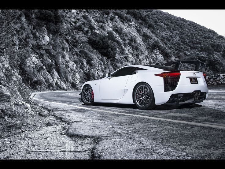 2013 Lexus LFA Nurburgring Edition White