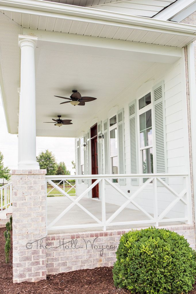 Southern Living Eastover Cottage Exterior railing