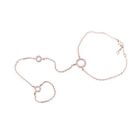 Bracciale-anello Cuff ring oblo