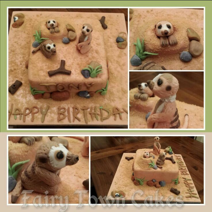 Cake Decorating Store Nj : 1000+ images about Fondant Meerkat characters on Pinterest ...