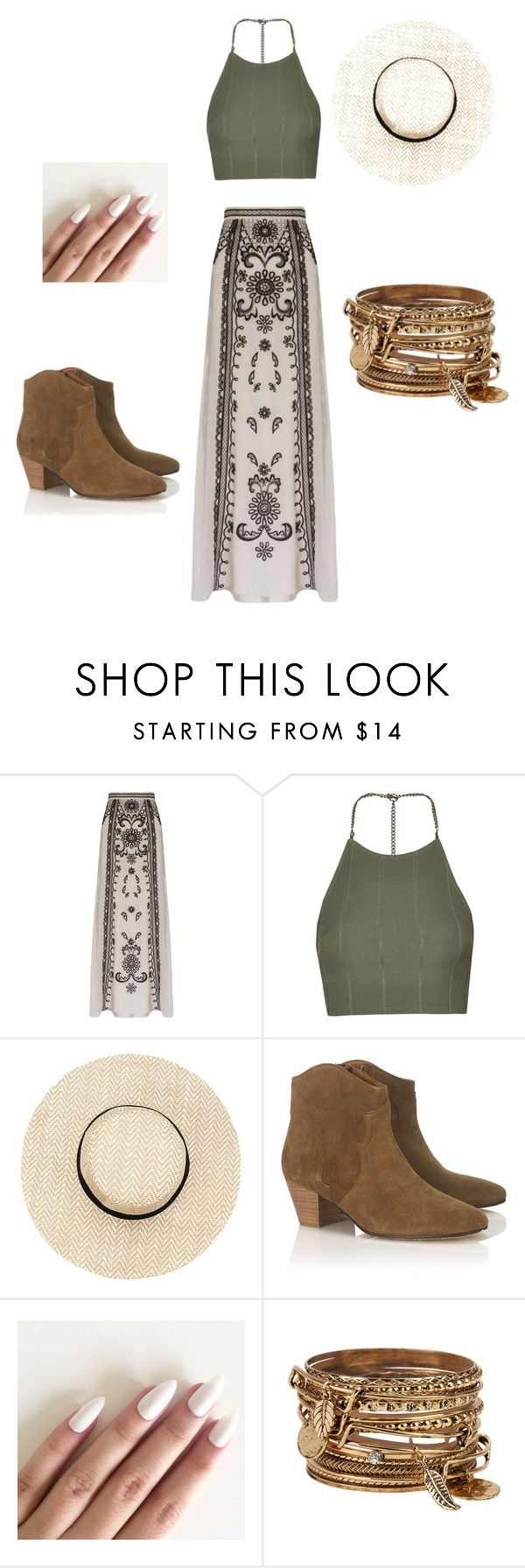 """""""Festival"""" by lexy24 on Polyvore featuring Temperley London, Topshop, Étoile Isabel Marant and ALDO"""