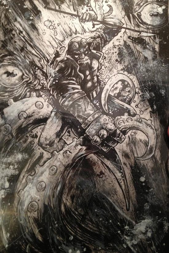 Hellboy by Joshua Andrew Belanger