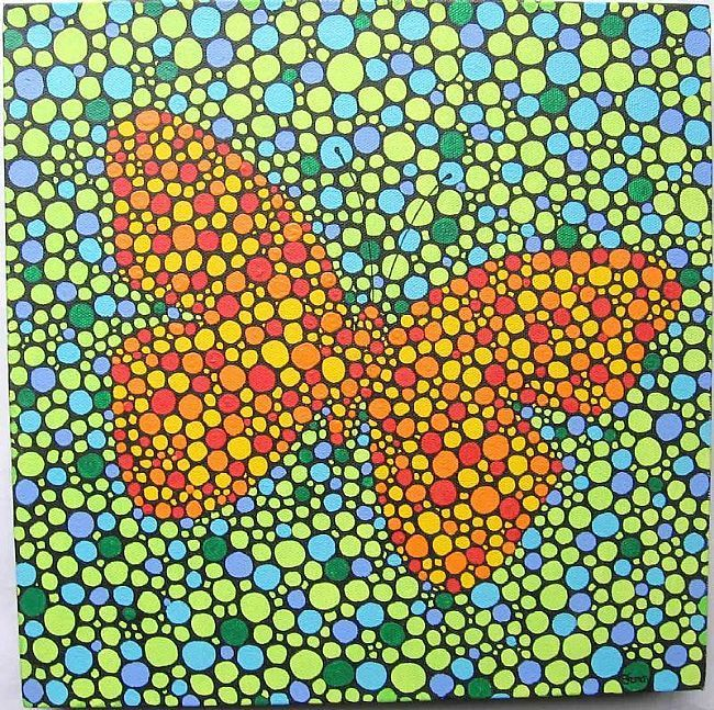 DOT ART | ... my dot painting series these abstract dot paintings are a platform for