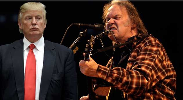Neil Young to Donald Trump: Don't Rock in My Free World | Mother Jones