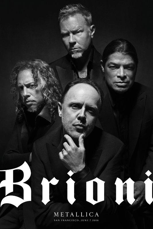Metallica, Brioni'nin yeni yüzü oldu!Kapak Magazin | Kültür & Sanat | Kapak Magazin | Kültür & Sanat
