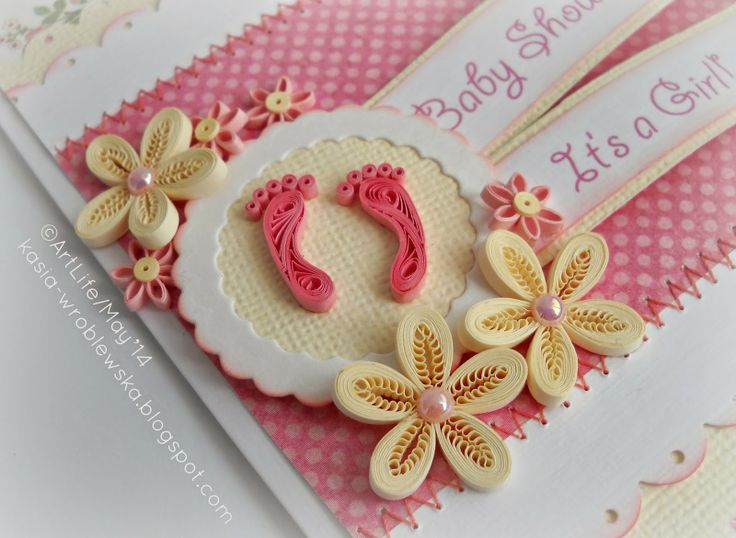 perfect for baby girl cards