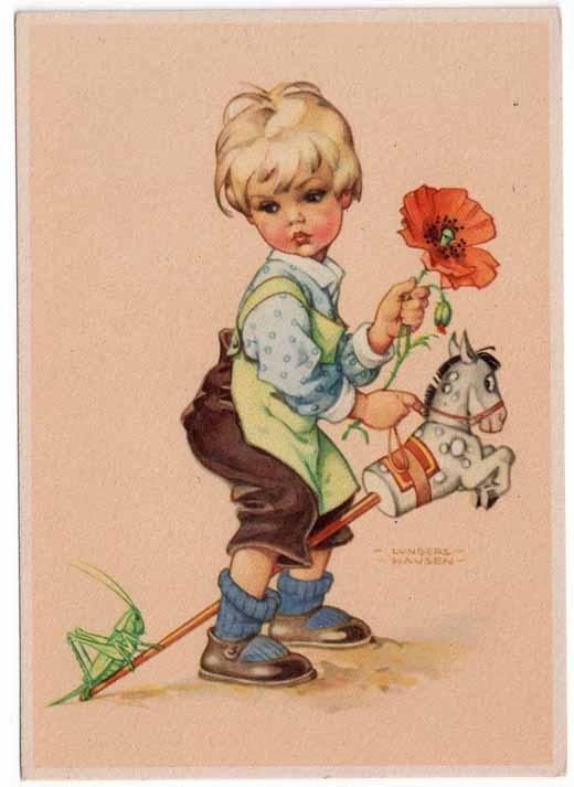 Lungers hausen dibujos para pintar pinterest laminas - Ilustraciones infantiles antiguas ...
