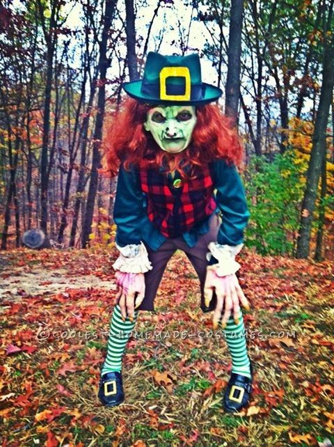 Coolest Homemade Leprechaun Child Costume… Coolest Online Halloween Costume Contest