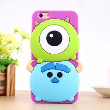 Funda iPhone 6 y 6+ Monstruos SA baby. [17,20€] Envío gratis