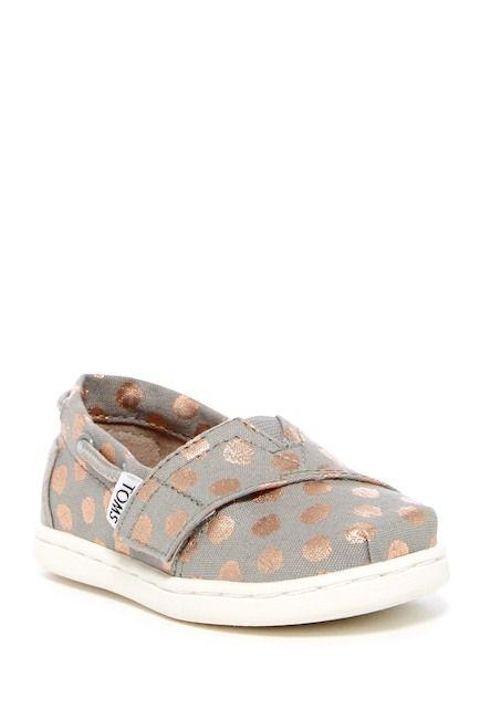8649cc222c3a Image of TOMS Bimini Foil Polka Dot Slip-On Sneaker (Baby, Toddler, &  Little Kid)
