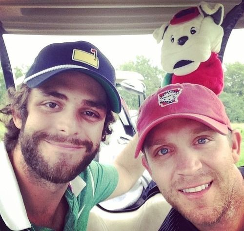 Thomas Rhett and Justin Moore