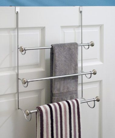 Look at this zulilyfind! Split Finish Over the Door Towel