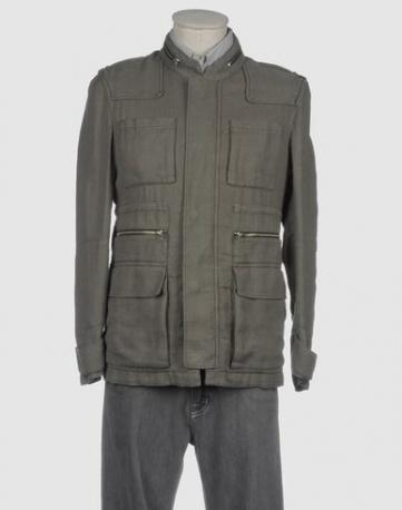 A lezione dagli uomini!  Giacca militare in cotone e zip, MSGM.