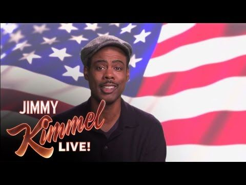 Chris Rock's Message For White Voters On 'Jimmy Kimmel Live' In Brooklyn (VIDEO)