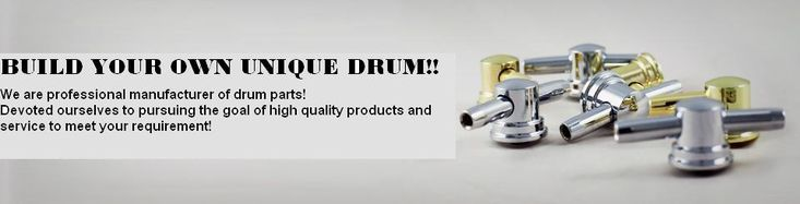 Lea Hung Drum Co., Ltd. - Custom Drums, Drum Parts, Drum Hardware, Metal Shells, Drum Lugs, Drum Hoops, Strainers, Throw-Offs, Butt Ends, Snare Wires, Air Vents, Tom Mount Brackets, Drum Keys, Bass Drum Claws, Floor Tom Legs, Bass Drum Legs, Bass Drum Spurs, Drum Suspension Systems, Drum Practice Pads, Drum Heads,Tension Rods, Mounting Screws, Snare Drum, Tom Tom, Floor Tom, Bass Drum, Lea Hung, Drum Company, Handmade Drums, Handcrafted Durms,