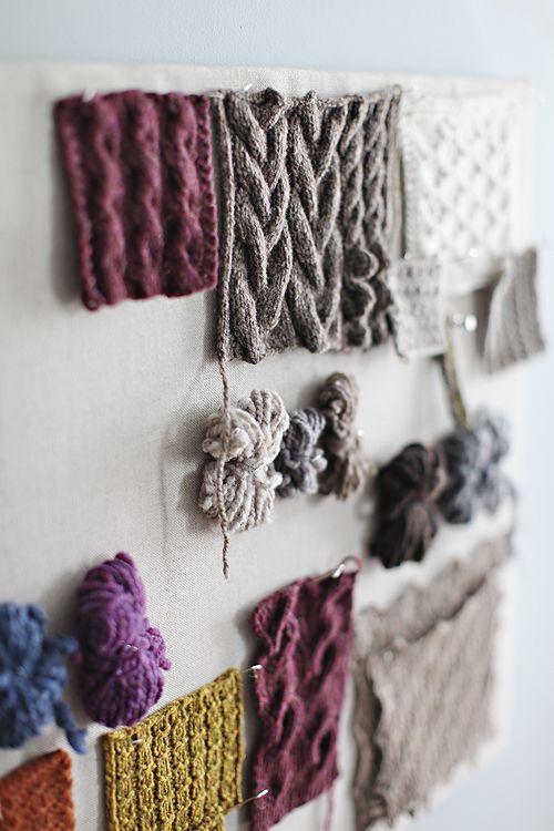 Knit samples