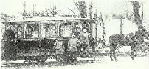 Ιππήλατο τραμ, 1907